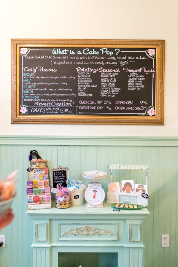Classic and custom cake pop flavors
