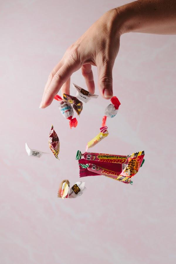 International candy assortment