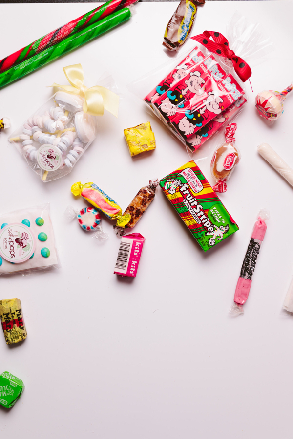 Assorted nostalgic candy