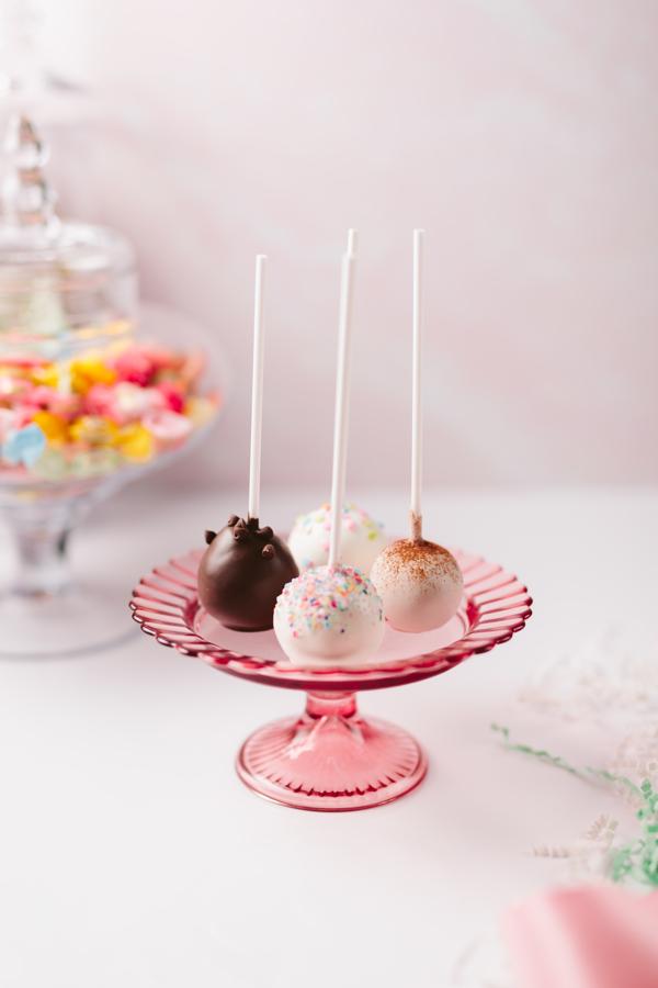 Popular flavors of cake pops