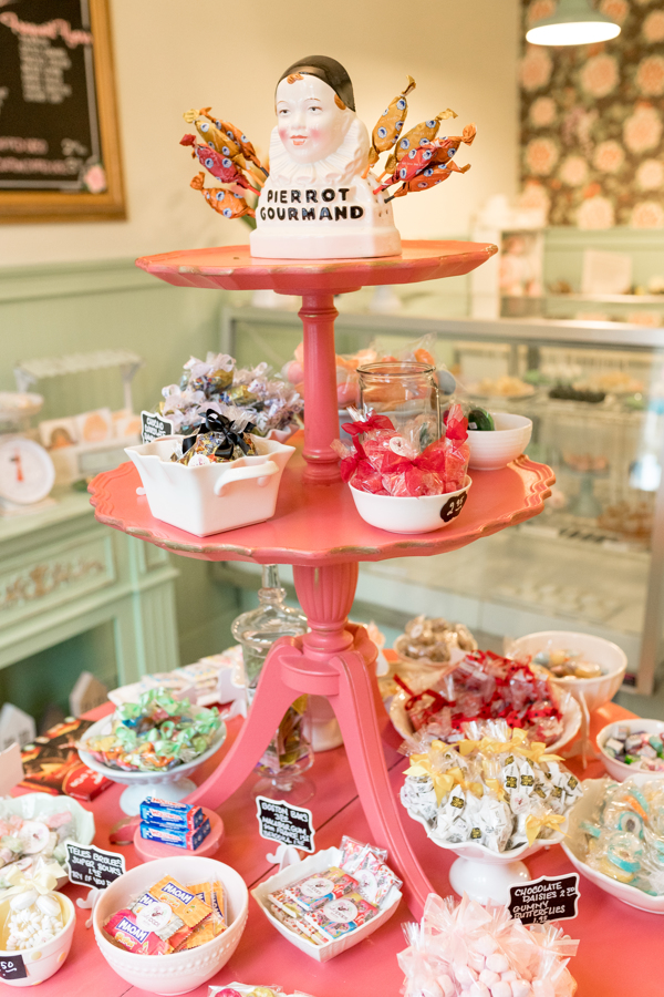 Seasonal candy display